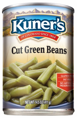 Kuner's Cut Green Beans Perspective: front