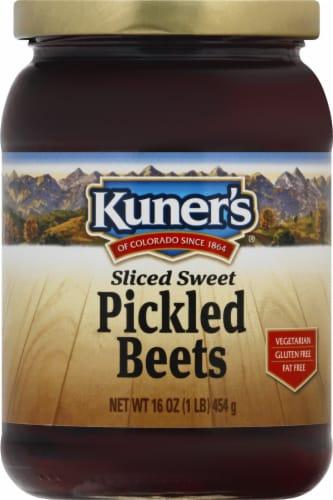 Kuner's Sliced Sweet Pickled Beets Perspective: front