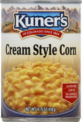 Kuners Premium Golden Sweet Cream Style Corn Perspective: front