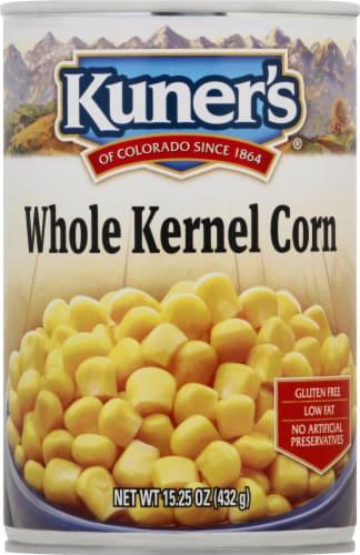 Kuner's Premium Golden Sweet Whole Kernel Corn Perspective: front