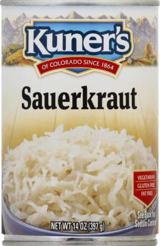 Kuner's Sauerkraut Perspective: front