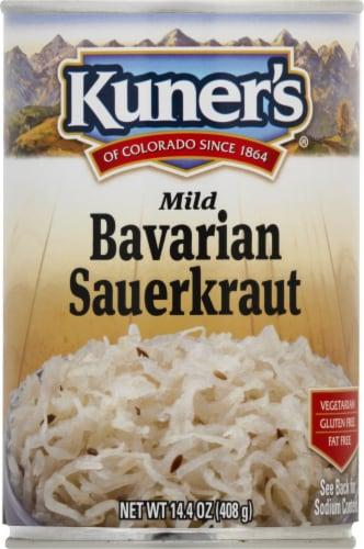 Kuner's Mild Bavarian Sauerkraut Perspective: front