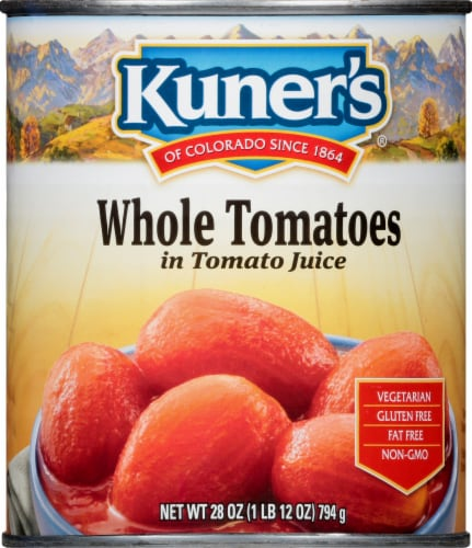Kuner's Whole Tomatoes Perspective: front