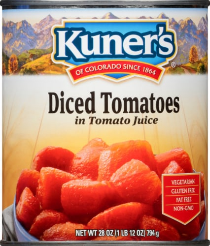 Kuner's Diced Tomatoes Perspective: front