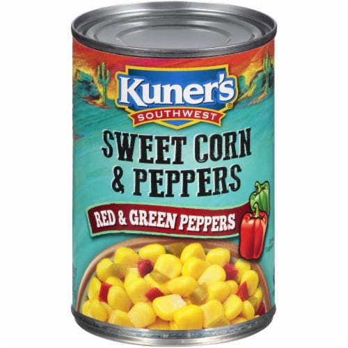 Kuner's Southwest Sweet Corn & Peppers Perspective: front