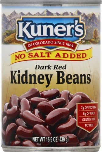 Kuner's No Salt Added Dark Red Kidney Beans Perspective: front