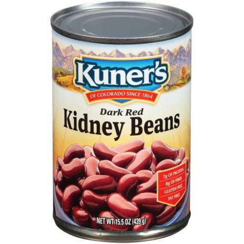 Kuner's Dark Red Kidney Beans Perspective: front