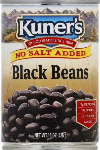 Kuner's No Salt Added Black Beans Perspective: front