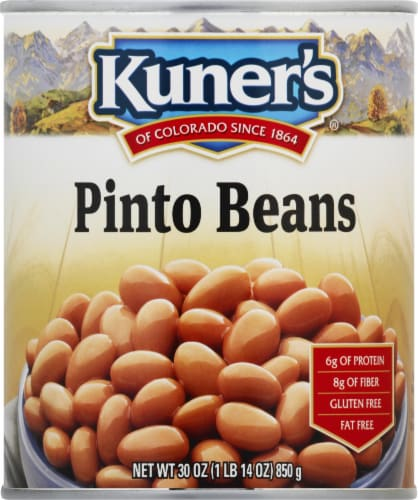 Kuner's Pinto Beans Perspective: front