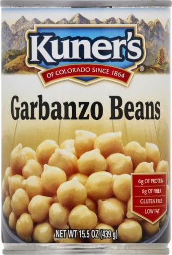Kuner's Garbanzo Beans Perspective: front