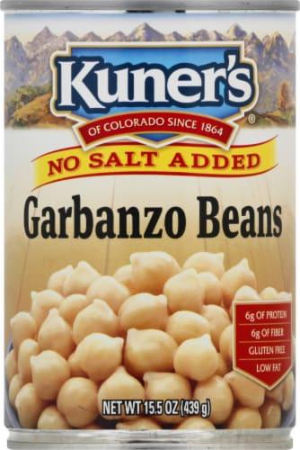 Kuner's No Salt Added Garbanzo Beans Perspective: front