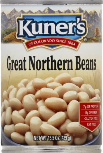 Kuner's Great Northern Beans Perspective: front