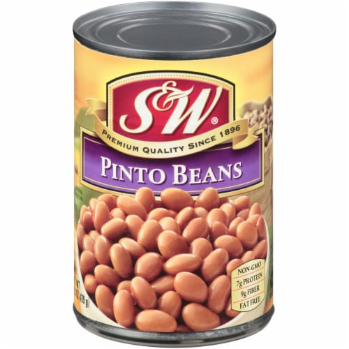 S&W Premium Pinto Beans Perspective: front