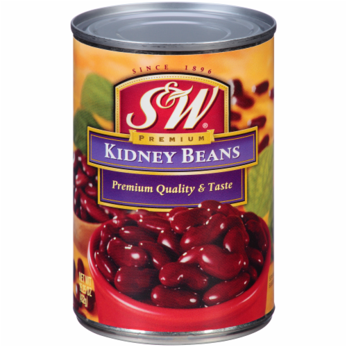 S&W Premium Kidney Beans Perspective: front