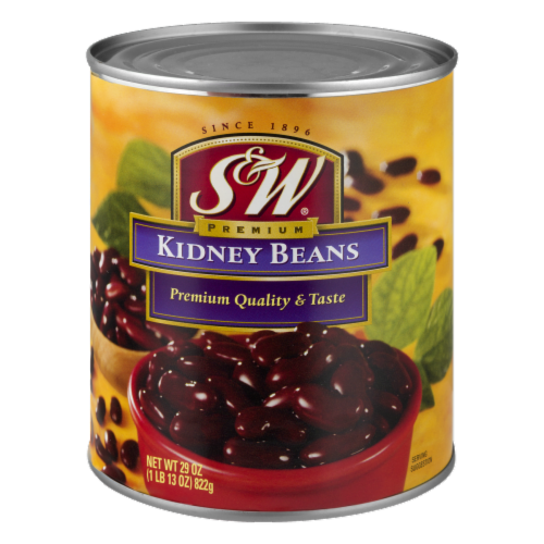 S&W Red Kidney Beans Perspective: front