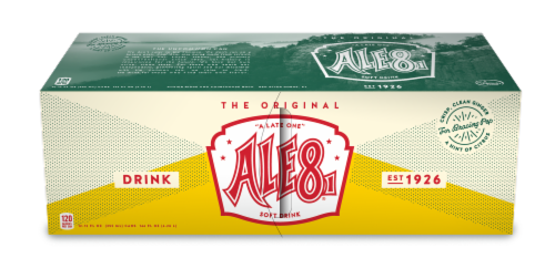 Ale-8-One One Soft Drinks Perspective: front