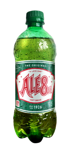 Ale 8 1 Soft Drink Perspective: front