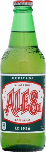 Ale-8-One Soft Drink Perspective: front