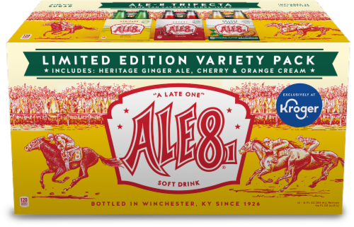 Ale-8-One Ginger Ale Variety Pack Perspective: front