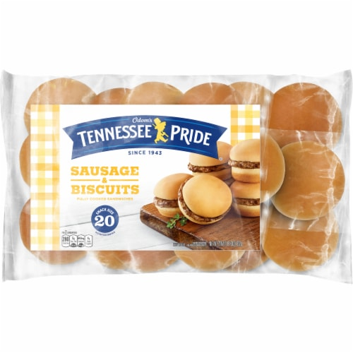 Odom's Tennessee Pride Sausage Biscuits Perspective: front