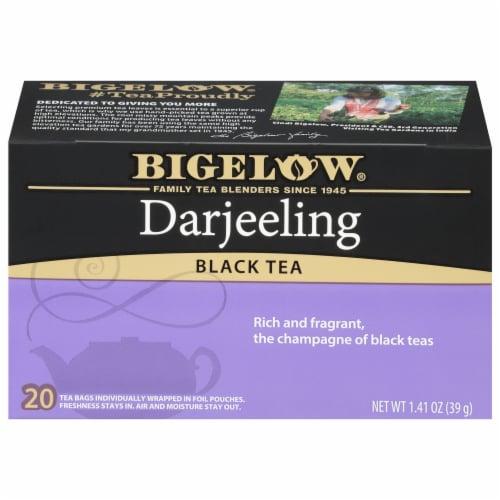 Bigelow Darjeeling Black Tea Perspective: front