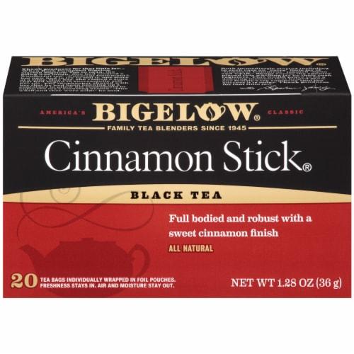 Bigelow Cinnamon Stick Black Tea Perspective: front