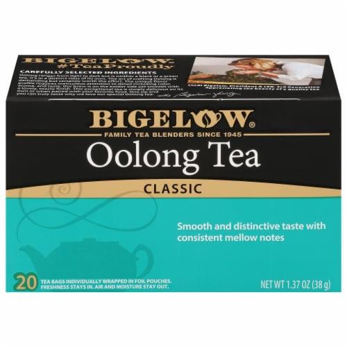 Bigelow Oolong Tea Perspective: front
