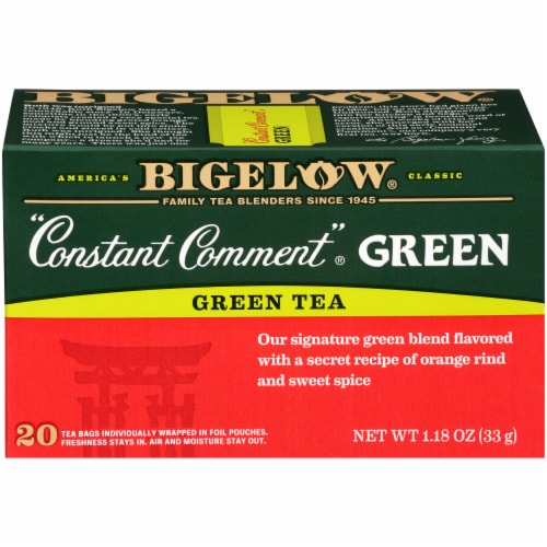 Bigelow Constant Comment Green Tea Bags Perspective: front