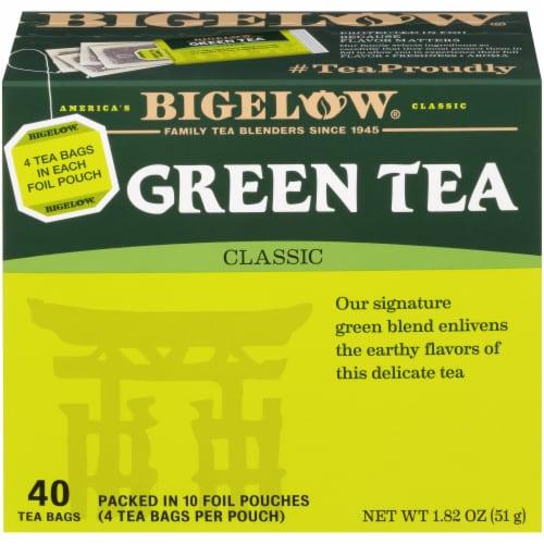 Bigelow Green Tea Perspective: front