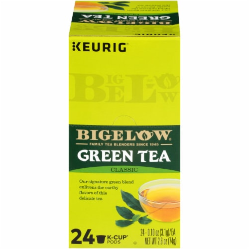 Bigelow Classic Green Tea K-Cup® Pods Perspective: front