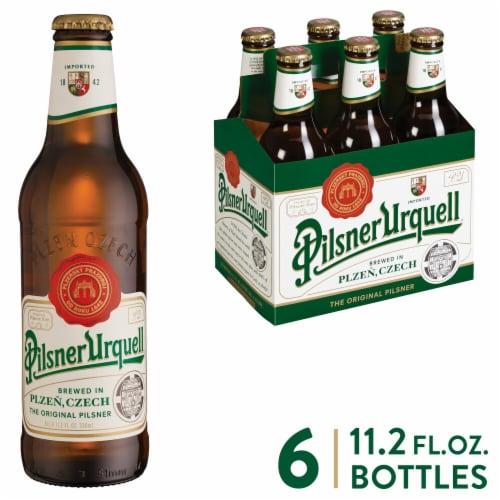 Pilsner Urquell Beer Perspective: front