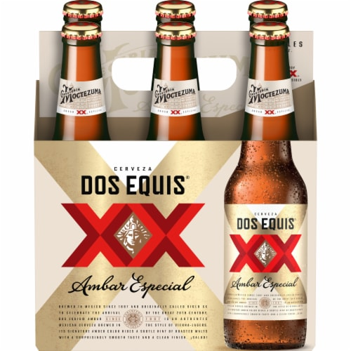 Dos Equis XX Amber Perspective: front