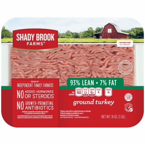Shady Brook Farms 93% Lean Ground Turkey Perspective: front