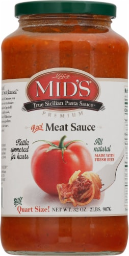 Mid's Meat Homestyle Pasta Sauce Perspective: front