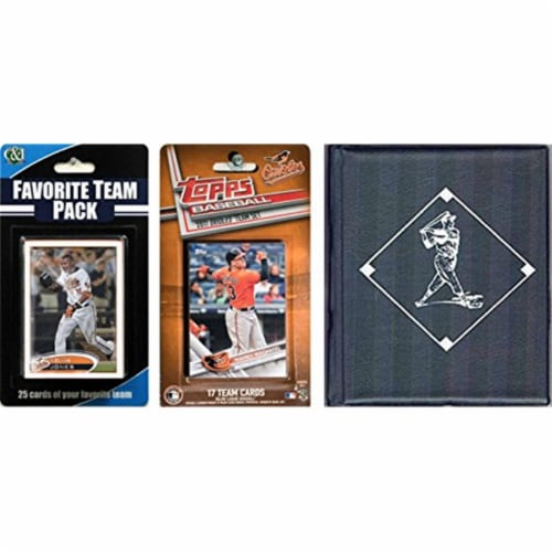 C & I Collectables 2017ORIOLESTSC MLB Baltimore Orioles Licensed 2017 Topps Team Set & Favori Perspective: front