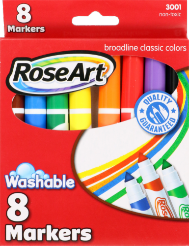 RoseArt Broadline Washable Colored Markers Perspective: front
