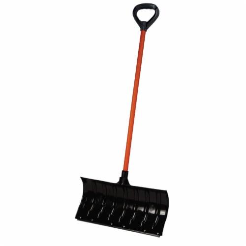 Bigfoot™ Pusher Snow Shovel - Black Perspective: front