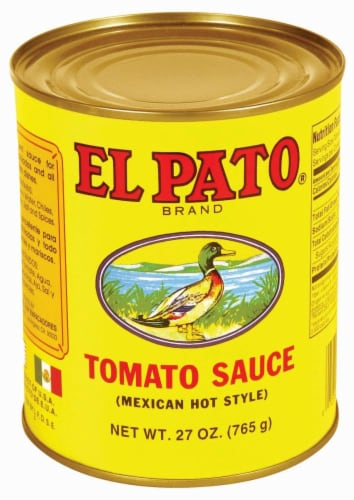 El Pato Hot Tomato Sauce Perspective: front