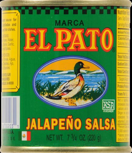 El Pato Jalapeno Salsa Perspective: front