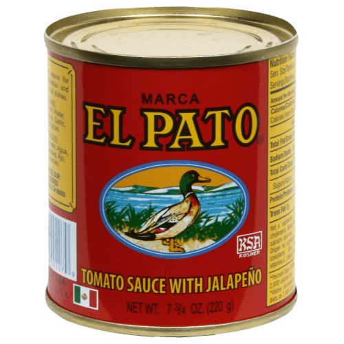 El Pato Tomato Sauce with Jalapeno Perspective: front