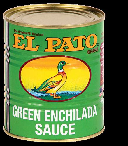 El Pato Green Enchilada Sauce Perspective: front