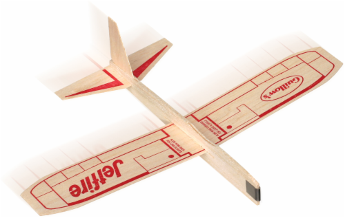 Toysmith Balsa Wood Jetfire Glider Perspective: front