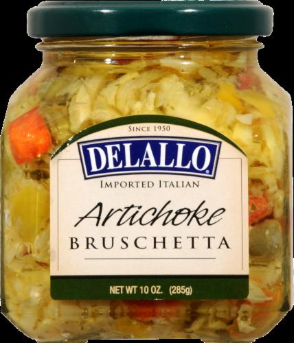 Delallo Artichoke Bruschetta Perspective: front