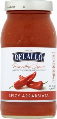 DeLallo Pomodora Fresco Spicy Arrabbiata Sauce Perspective: front