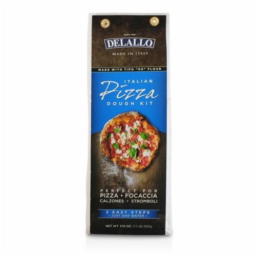 DeLallo Italian Pizza Dough Kit Perspective: front
