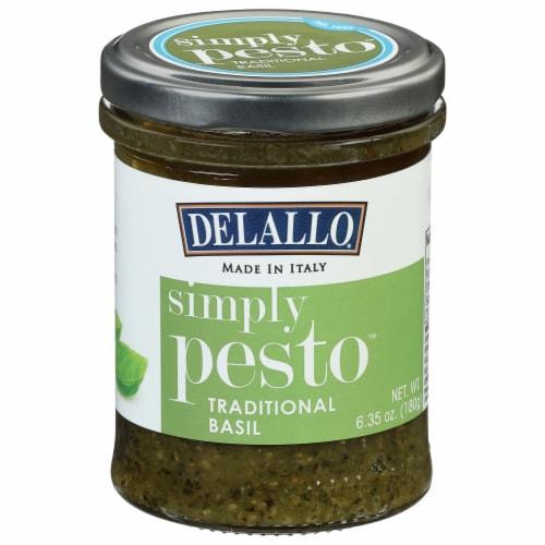 Delallo Simply Pesto Traditional Basil Pesto Sauce 6 35 Oz Ralphs