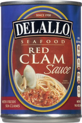 DeLallo Seafood Red Clam Sauce Perspective: front