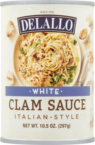 DeLallo® White Clam Sauce Perspective: front