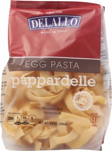 DeLallo Egg Pappardelle Pasta Perspective: front