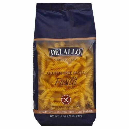 DeLallo Fusilla Gluten Free Pasta Perspective: front